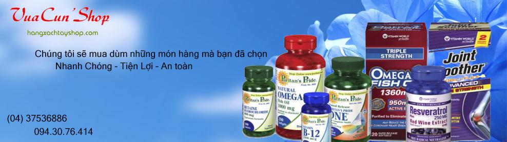 Bổ xung Vitamin Thực phẩm chức năng